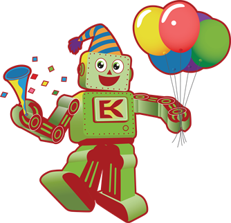 Engineering For Kids birthday robot