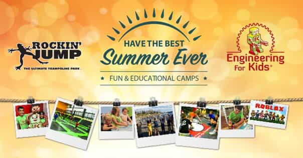 Rockin' Jump Camps from Engineering For Kids