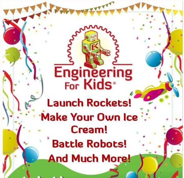 Engineering For Kids of Portland Party Packages Birthday Parties