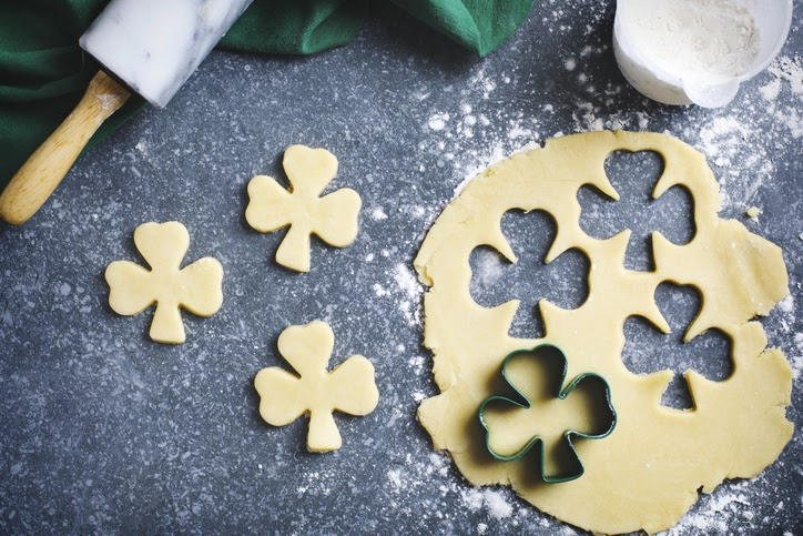 clover sugar cookies