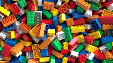 colorful legos
